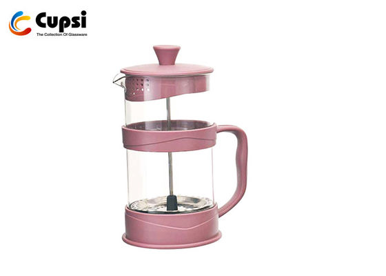 Heatproof Plastic French Press Coffee Maker OEM Available Easy Press