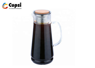 Transparent Cold Brew Coffee Machine Stainless Steel Filter Quick Clean
