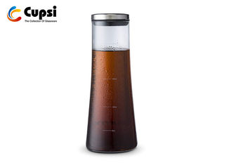 Removable Cold Brew Coffee Maker 1000ml With  Stainless Steel Filter / Lid