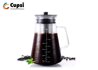 1000ml Airtight Cold Brew Coffee Maker With Fine Double Mesh Filter Odor - Free