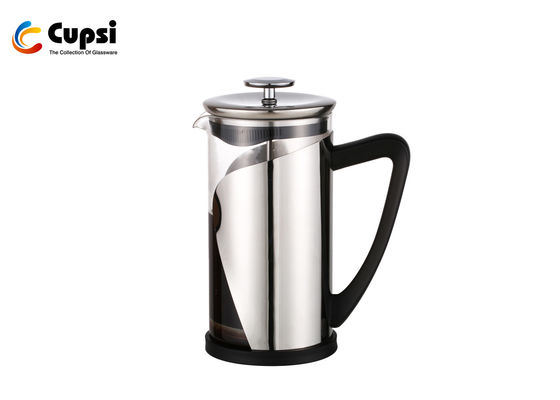China 1000ml Stainless Steel French Press / Plastic French Press Coffee Maker supplier